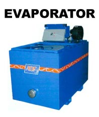 ADF Systems, Inc. EVAPORATOR parts washer