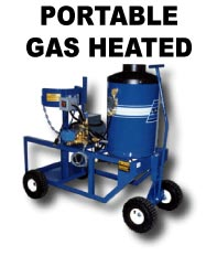 ADF manufactures portable gas-powered pressure washers
