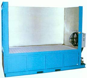 ADF Spray Booth Parts Washers are built to order to satisfy the customer requirements