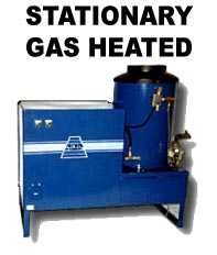 ADF Systems, Inc. Stationary Gas Heat Pressure Washer